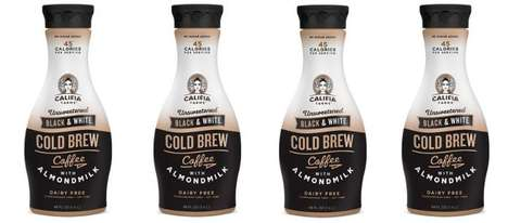 Calorie-Conscious Cold Brews - The Califia Farms Black & White Offers a Dairy-Free Cold Brew Coffee