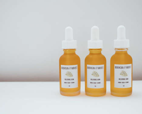 African Tree Face Serums - Bohemian Harvest's Solar Brightening Serum Features Baobab Ingredients