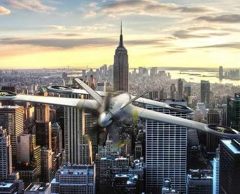 Hybrid Aircraft Drones