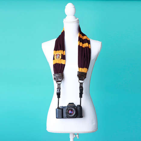 Wizardly Camera Straps - This DSLR Camera Strap Pays Tribute to the Harry Potter Franchise