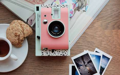 Decorative Instant Cameras - Lomography Released a Camera That Was Inspired by a Fashion Capital