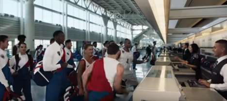 Olympic Travel Ads - United Airlines' Olympic Advertisement Showcases Its Partnership with Team USA