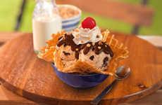 Breakfast-Inspired Ice Cream Flavors - The Newest Baskin-Robbins Flavor Tastes Like Cereal Milk
