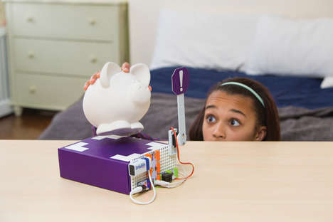 Trap-Setting Invention Toys - The littleBits 'Rule Your Room' Kit Lets Kids Set Harmless Booby Traps
