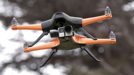 Automated Follower Drones - The 'Staaker' Drone Locks onto its User to Film Their Activities
