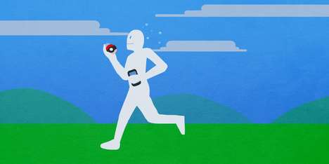 Anime-Themed Fitness Apps - The PokeFit App is the Supplementary Fitness App for Pokemon Go Users