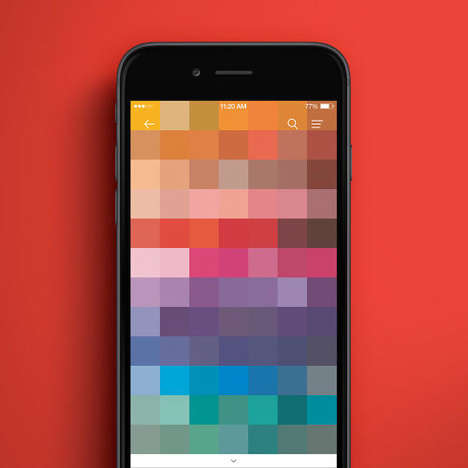 Color-Picking Paint Apps - The 'Pantone Studio' App Digitally Breaks Down Real-World Colors