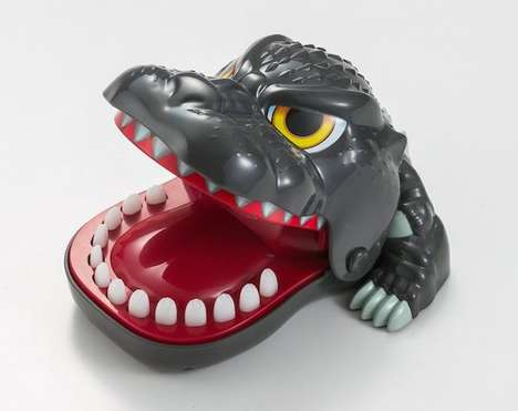 Monstrous Dental Games - This Godzilla Toy is Modeled After a Classic Dentist Game for Kids