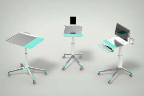 Multi-Purpose Medical Desks - This Desk Was Designed to Simplify the Jobs of Doctors and Nurses
