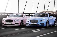 Car Color Collaborations - Two Special-Edition Bentleys Will Come in Pantone's Colors of the Year