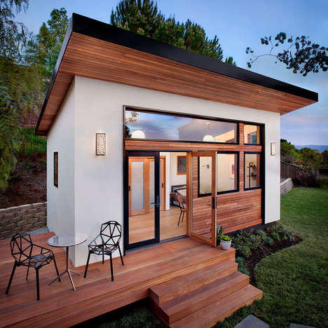 Prefabricated Guest Homes - This Tiny Guest House Has All the Basic Amenities of Most Houses