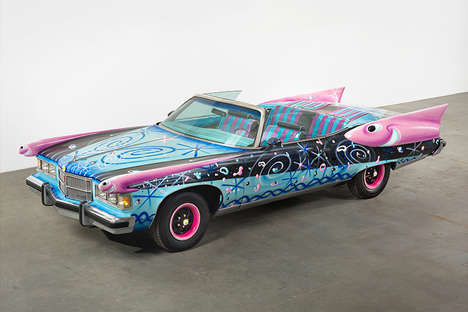 Artist-Engaged Automobiles - Piston Head II Explores the Connections Between Iconic Autos and Art