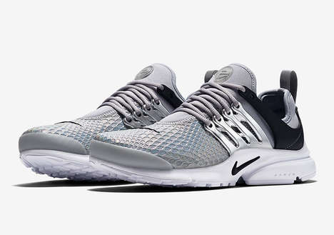 Metallic Shoe Designs - Nike's Presto Silhouette is Being Released with a Futuristic Twist