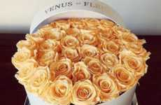 Extremely Long-Lasting Roses - The Venus Et Fleur Rose Shop Crafts Roses that Stay Fresh for a Year