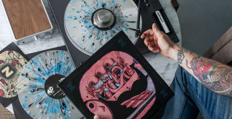 Introductory Record Subscriptions - 'Vinyl Me, Please' Sends Consumers Curated LPs to Explore