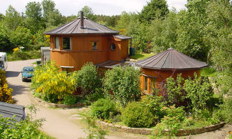 Repurposed Libation Abodes - The Ecovillage Findhorn Offers Sustainable Homes Made From Whisky Vats