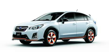 Futuristic Hybrid Crossovers - The New Subaru XV Hybrid tS Offers Performance and Inspiration