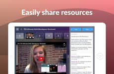 Personalized Lesson-Planning Apps - The TES Teach App Helps Educators to Easily Create Lesson Plans