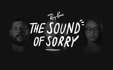 Apologetic Glasses Campaigns - Bullies Say They're Sorry in Ray-Ban's New Digital Campaign
