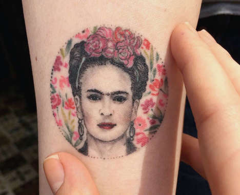 Small Circular Tattoos
