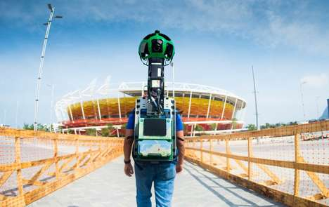 Virtual Olympic Venues - Google Street View is Taking Users Inside All of the Olympic Venues