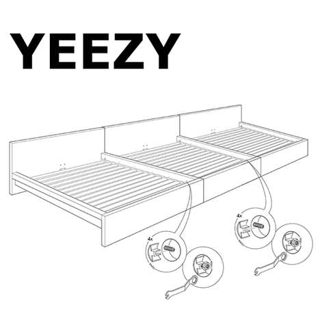 Rapper-Made Furniture Parodies - IKEA Australia Made an Ad That Imagines a Kanye West Collaboration