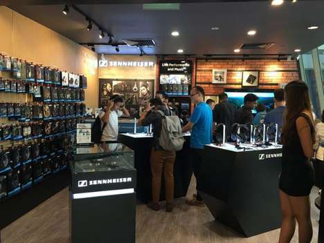 Weekly Headphone Rentals - Sennheiser is Letting Consumers Rent Headphones from Its Singapore Store