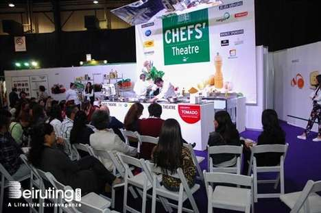Lebanese Cooking Festivals - The Beirut Cooking Festival Showcases the Region's Best Chefs