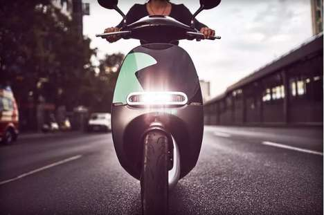 Scooter-Sharing Programs - Gogoro Scooters Will Be Available for Rent in Berlin Through an App
