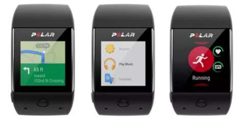 Groundbreaking GPS Smartwatches - Polar's Android Wear Watch Helps You Track Your Fitness