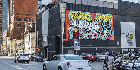 Historical Hip Hop Activations - Netflix Paints Graffiti in Toronto for Its Series 'The Get Down'