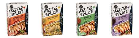 Frozen Chicken Dinner Kits - The 'Freezer to Plate' Meal Kits Simplify Dinner Prep for Busy Families