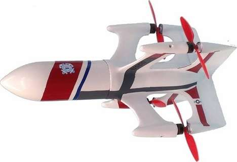 Multi-Directional Missile Drones - The QuadRKT Drone Can Fly Like a Missile or Hover Like a Copter