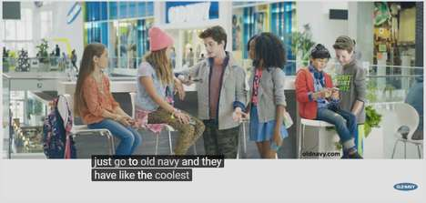 Comedic Kids' Fashion Ads - This Old Navy Back to School Ad Features Amy Schumer as the Cool Aunt