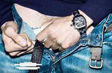 Crotchvertising - Using Crotches to Sell Watches in 'Radical Quick'