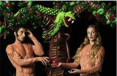 Biblical Balloon Art Photography - Paul Graves' Modern Twist on 'The Garden of Eden'