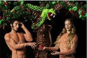 Paul Graves' Modern Twist on 'The Garden of Eden'