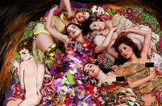 Recreating Womanly Paintings - 'La Esencia de Klimt' Given a Modern Spin by Kattaca