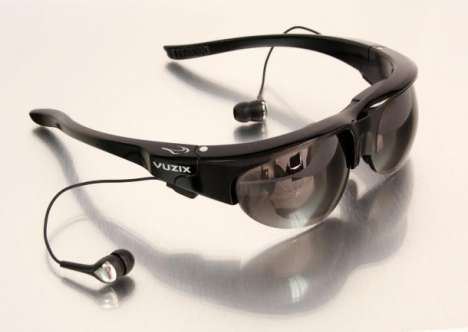 High-Tech Video Glasses