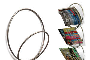 Spice Up Your Condo With The Ring-Ring Wall-Mounted Rack