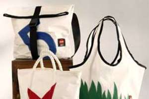 360 Degree Sailcloth Bags Make Seaworthy Accessories
