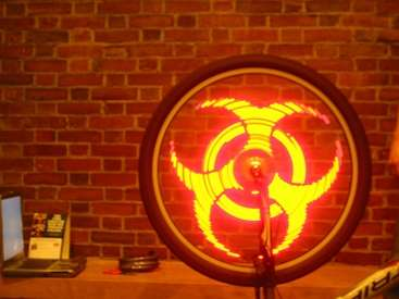 DIY Bicycle Wheel LEDs