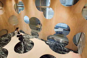 Bubbly 'Boolean' Interior Installation at U of Tokyo