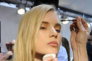 Pale as Snow Cosmetics for Pretty Spring 2009 Beauty Looks