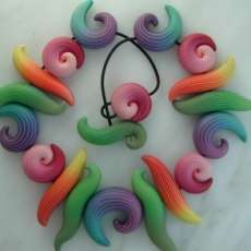 Candy-Colored Clay Jewelry