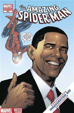 Political Comic Book Cameos