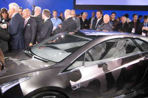 GM Builds Cadillac Converj