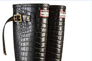 Couture Hunter Wellingtons by Jimmy Choo