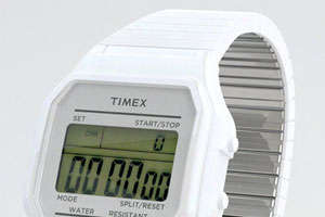 The Timex 80 Watch Brings Back Old-School Digital