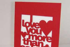 Personalized 'I Love You More Than' Cards
